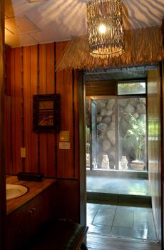 貸切バリ風 展望風呂画像