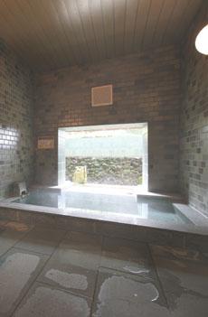 別館バトゥール地階 貸切半露天風呂画像